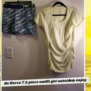 2 piece spring activewear outfit